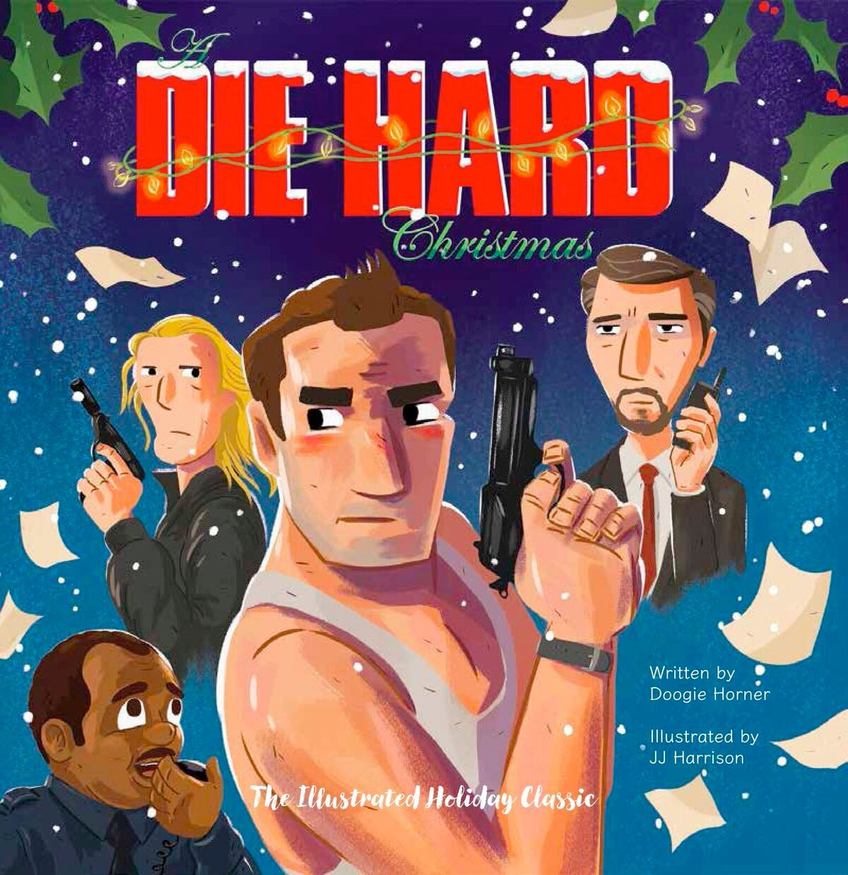 Just in time for Christmas: Die Hard as a children\'s picture book