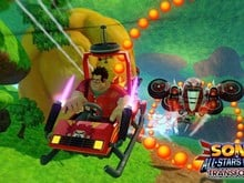 Wreck-It Ralph in Sonic & All-Stars Racing Transformed photo