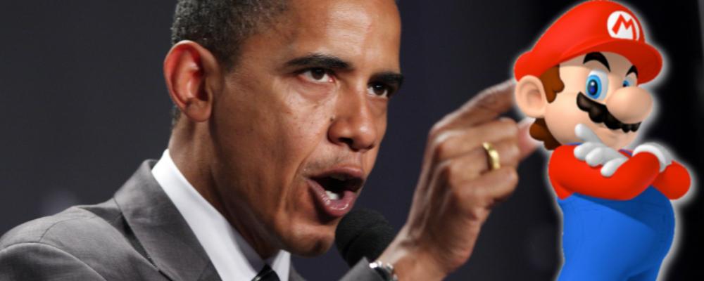 Wii > Obama photo