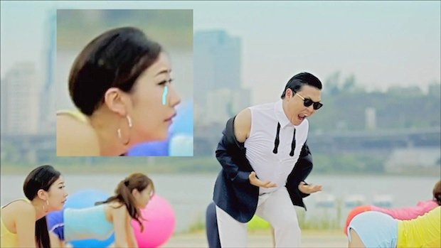 Gangnam style vs sexy and i know it