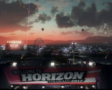 Forza Horizon: behind-the-scenes look at the festival photo