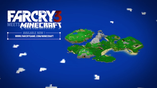 Fry Cry 3 Map Pack Is Now Available For Minecraft