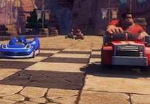Watch Wreck-it Ralph race Sonic in this trailer photo
