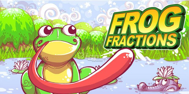 Frog Fractions: The most interesting game I played today screenshot