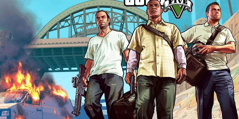 Grand Theft Auto V's character Switch system is nuts