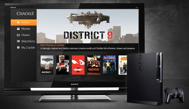 PS3 gets Sony Crackle movie and television app
