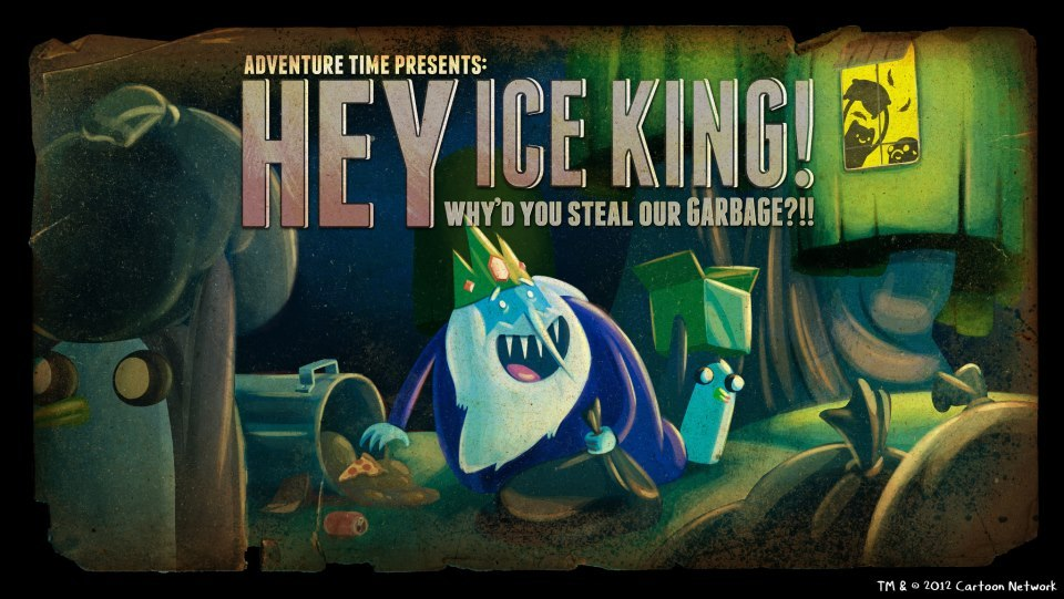 Review: Adventure Time: Hey Ice King! Why'd You Steal... photo