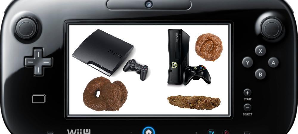 Wii U > 360/PS3 photo