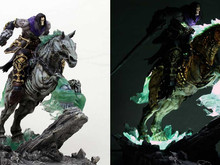 This Darksiders II 'Death & Despair' statue is turbo-boss photo