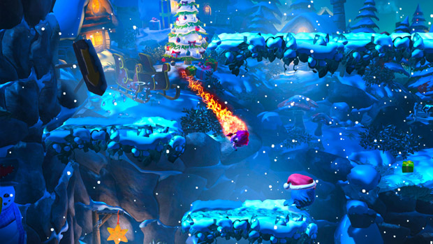 Giana Sisters: Twisted Dreams gets a free Christmas level photo