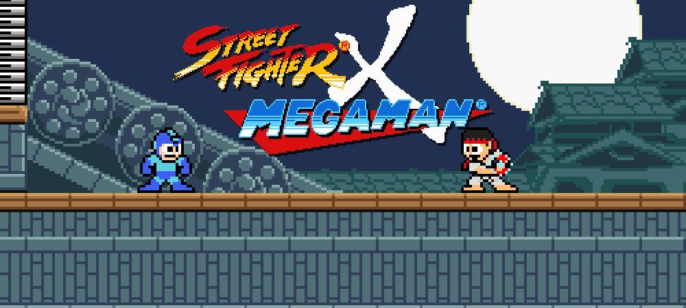Street Fighter X Mega Man boss...