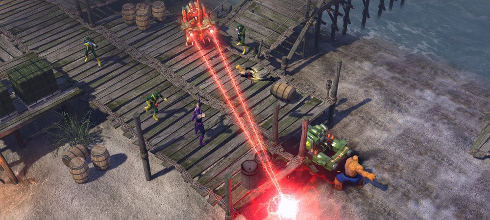 Preview: Catching up with Marvel Heroes' closed beta photo