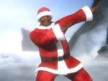 Santa suits available for Dead or Alive 5 photo