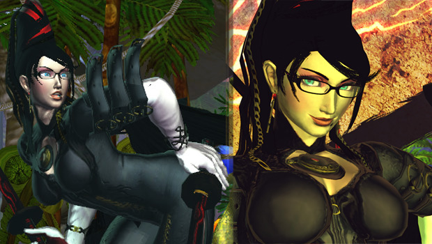 Bayonetta, Denjin Sakura, & more in SSF4:AE and SFxT mods screenshot