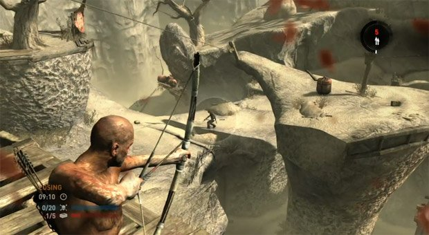Take a look at multiplayer in Tomb Raider screenshot