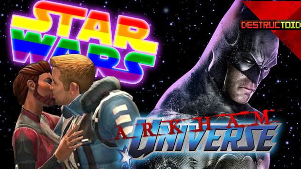 The DTOID Show: DmC, Sir Hammerlock, & Gay Star Wars screenshot