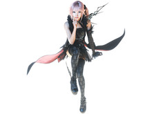 Meet Lightning Returns' new pink-haired character, Lumina photo