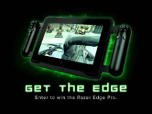 Win a Razer Edge photo