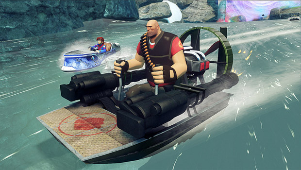 Team Fortress 2 racingPC-only characters confirmed for Sonic & All-Stars Racing photo