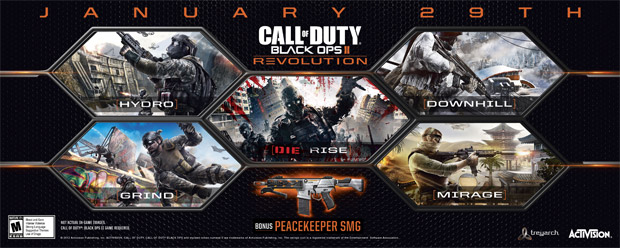 Play all the Black Ops II you can thanks to The Replacer screenshot