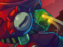 Awesomenauts gets an official Creeper skin photo