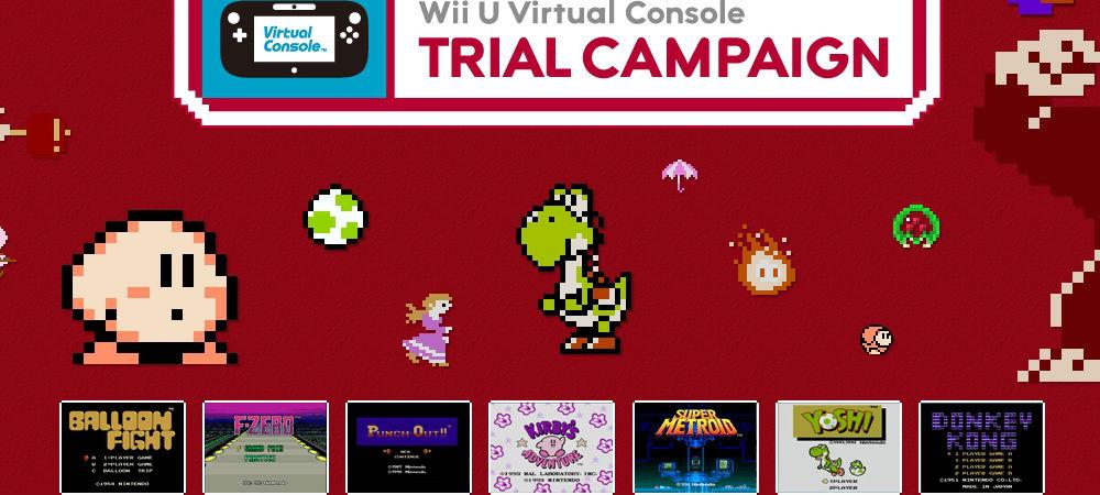 Virtual Console anniv. photo