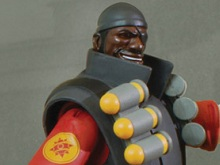 Team Fortress 2 Pyro and Demoman figures released photo