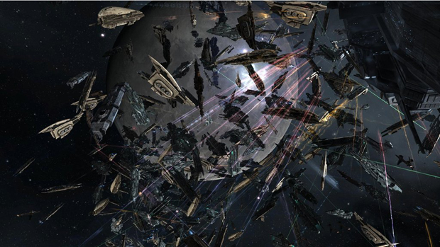 One pilot's mistake leads to massive battle in EVE Online screenshot