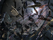 One pilot's mistake leads to massive battle in EVE Online photo