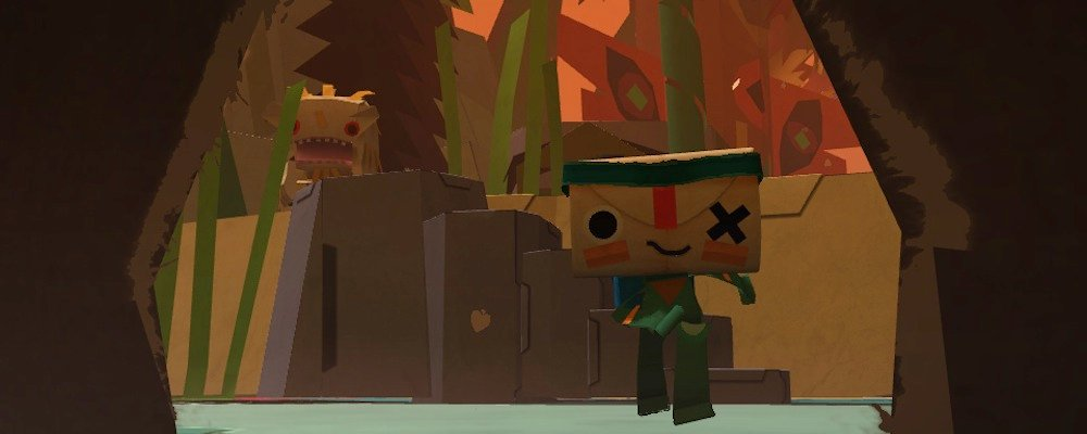 Hands-on: Ripping into Vita platformer Tearaway photo