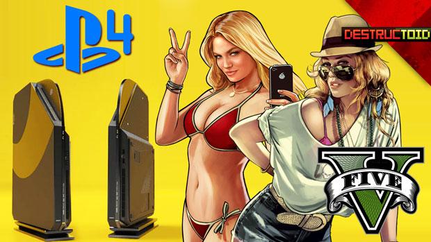 GTA V delay, Playstation 4 hints & New PS Vita games! screenshot