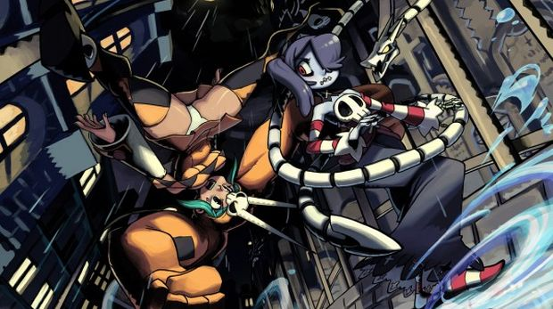 Skullgirls' first DLC character is called Squigly screenshot