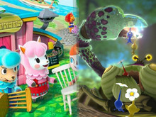 Animal Crossing / Pikmin photo