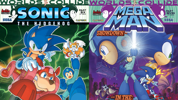 More proof that Sonic and Mega Man are the ultimate team screenshot