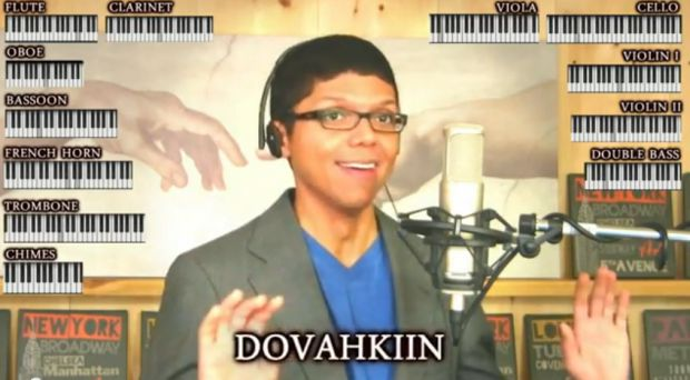 The Skyrim theme gets covered by ... Tay Zonday?  screenshot