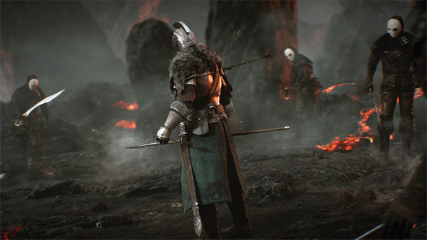 Help determine the buzzworthy tagline for Dark Souls 2 screenshot