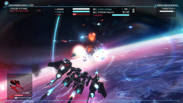 Strike Suit Zero Wii U 'not planned for' at the moment screenshot