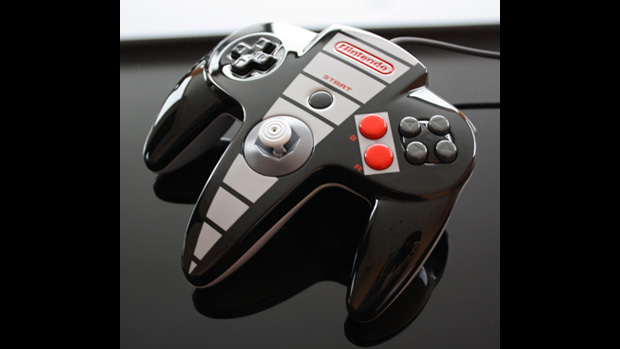 NES-themed N64 controller is the gamepad of the gods