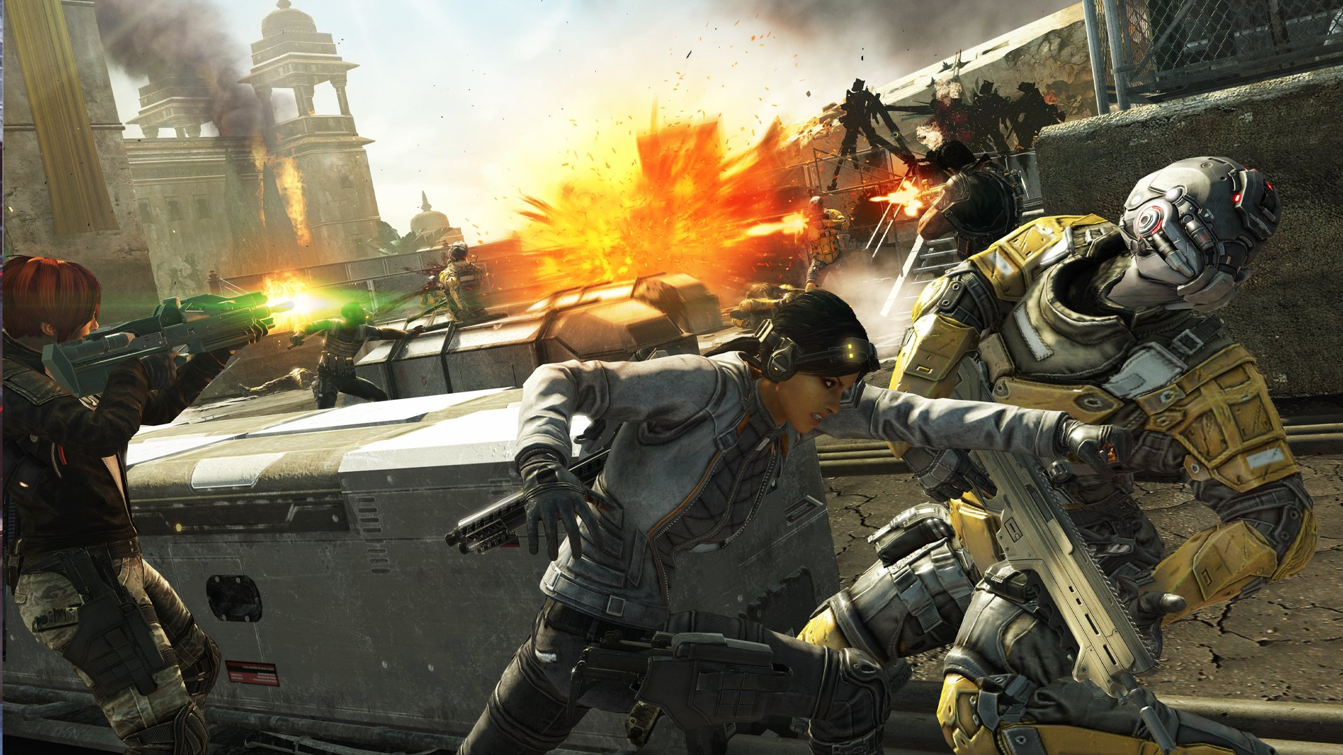 Fuse will be available on Xbox 360 and PlayStation 3 this March.