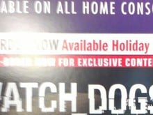 Leaked poster says Watch Dogs launches this Holiday photo
