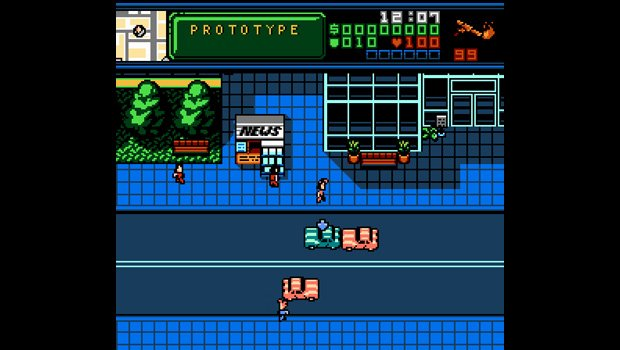 Retro City Rampage Wii out Feb 28, includes prototype ROM photo