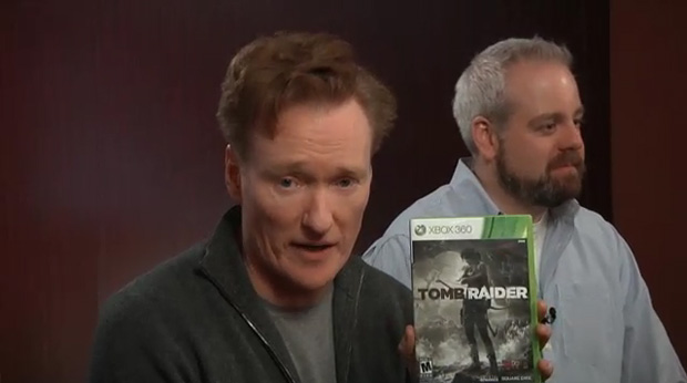 Conan O'Brien is pervy for LAURA Croft screenshot