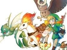 Zelda X Pokemon fan art is super amazing photo