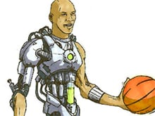 Cyborg Michael Jordan photo