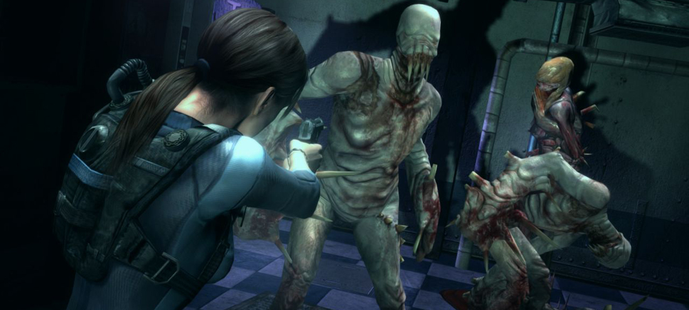 Check out 30 minutes of Resident Evil Revelations HD screenshot
