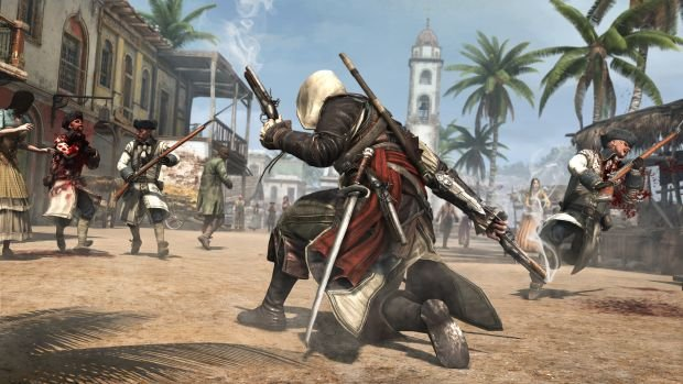 The Daily Hotness: I hear Assassin's Creed IV looks cool photo