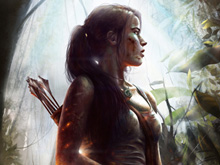 Lara Croft photo