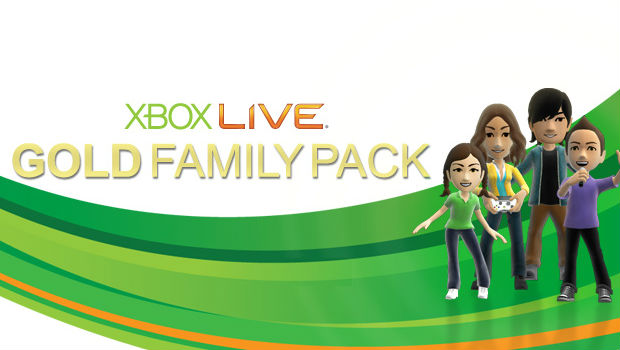 Microsoft quietly cancels the Xbox Live Family Pack photo