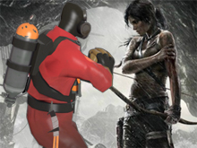 Tomb Raider on Steam now comes with TF2 items photo