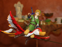 Animated Skyward Sword diorama is part delicious cake photo